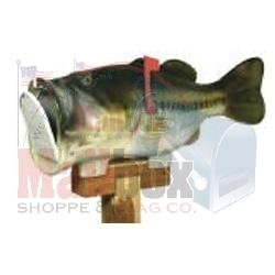 Big mouth bass mailbox