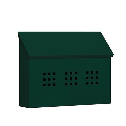 Traditional Mailbox - Decorative - Horizontal Style