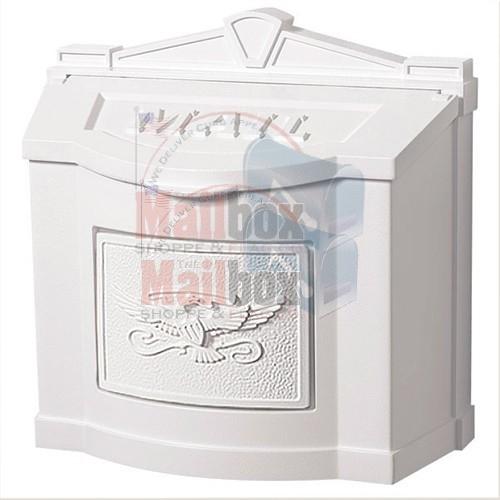 Gaines Eagle Wall Mount Mailbox Mailboxinstaller Com