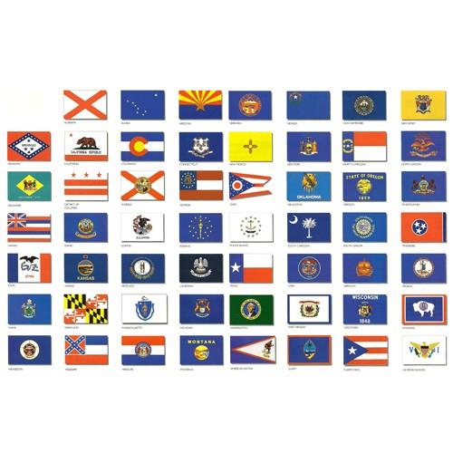 state flags u s nylon fabric 3 x 5 mailboxinstaller com