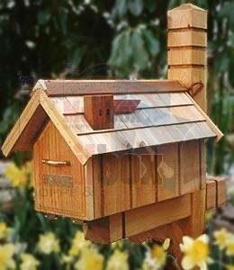 Cedar House Standard Mailbox Cbeh5 Mailboxinstaller Com