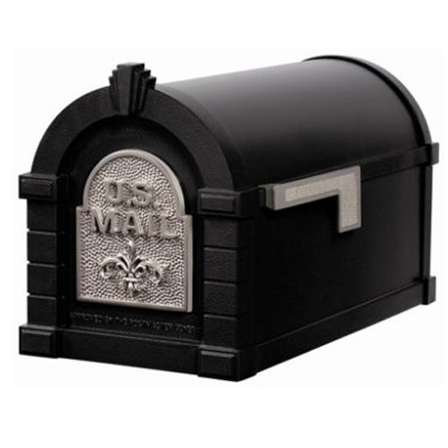 Keystone Fleur De Lis Mailbox & Post Package