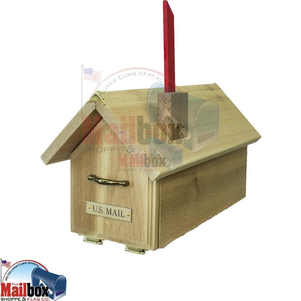 Cedar House Standard Mailbox Cbeh1 Mailboxinstaller Com